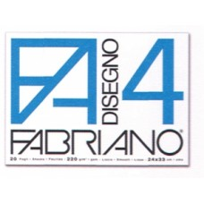 FABRIANO F4 ALBUM DISEGNO 24X33 LISCIO