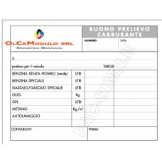 BLOCCO BUONI PRELEVAMENTO CARBURANTE CF.5