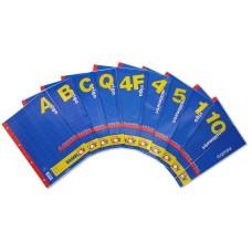 RAMBLOC RICAMBIO QUADERNO AD ANELLI RINFORZATO 40FF 15X21 80GR (A5) -1R-
