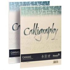 FAVINI CALLIGRAPHY CANVAS RUVIDO BIANCO 200 GR.