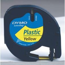 DYMO NASTRO PLASTICA MM12X4MT BIANCO