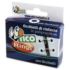 TICORINGS SCATOLA 500 OCCHIELLI SALVABUCHI