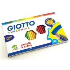 GIOTTO SUPERMINA MATITE COLORATE 36 PZ