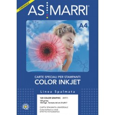 AS MARRI 120 COLOR GRAPHIC A4 PATINATA CONF.150 FOGLI - 125GR/MQ