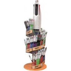 BIC 4 COLOURS FAMILY ESPOSITORE 156 PENNE SFERA
