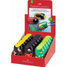 FABER CASTELL TEMPERAMATITE ANIMAL ESPOSITORE 18 TEMPERAMATITE