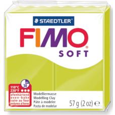 FIMO SOFT PASTA X MODELLARE PANETTO 57GR. VERDE LIMONE