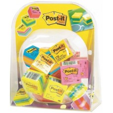 3M ESPOSITORE MINICUBI POST IT 30 CUBI COLORI ASSORTITI