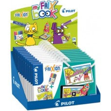 ESPOSITORE PILOT MY FRIX BOOK 12 ALBUM PIU SET FRIXION COLORS