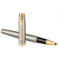 PARKER IM BRUSHED METAL GT ROLLER F NERO