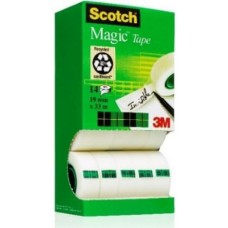 3M DISPLAY SCOTCH MAGIC 19*33 PROMO PACK 10 CON 4 OMAGGIO