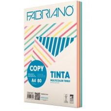 FABRIANO COPY TINTA A4 80GR MULTICOLOR 5 COLORI TENUI 250FF