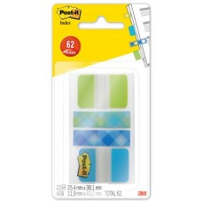 3M 686 POST-IT INDEX LAPLAIDEU BLISTER 62 INDEX