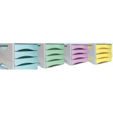 ARDA KEEP COLOUR PASTEL 4 CASSETTIERE COLORI ASSORTITI