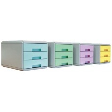 ARDA KEEP COLOUR PASTEL 4 MINICASSETTIERE COLORI ASSORTITI