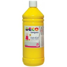 DECO TEMPERA FLACONE 500ML. GIALLO PRIMARIO