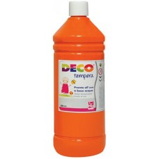 DECO TEMPERA FLACONE 500ML. ARANCIO