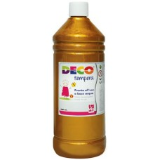 DECO TEMPERA FLACONE 500ML. ORO