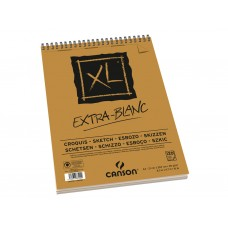CANSON ALBUM XL EXTRA BIANCO A4 SPIRALATO 120FF 90GR