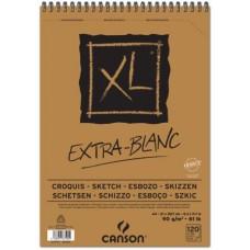 CANSON ALBUM XL EXTRA BIANCO A3 SPIRALATO 120FF 90GR