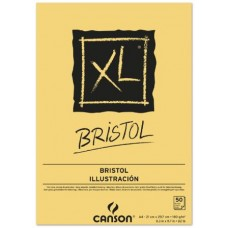 CANSON BLOCCO XL BRISTOL A3 50FF 180GR CARTA EXTRA LISCIA