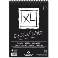 CANSON ALBUM XL NERO A3 40FF 150GR DESSIN NOIR SPIRALE