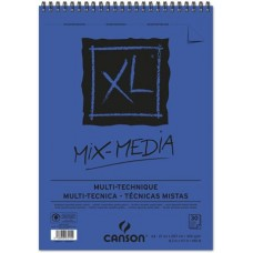 CANSON ALBUM XL MIX MEDIA A3 SPIRALATO 30FF 300GR