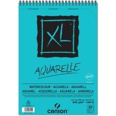 CANSON ALBUM XL AQUARELLE A4 SPIRALATO 30FF 300GR