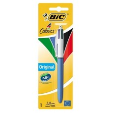 BIC 4 COLOURS MEDIUM PENNA BLISTER 1 PENNA