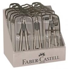 FABER CASTELL ESPOSITORE 15 COMPASSI