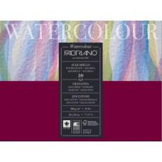 FABRIANO ACQUARELLO WATERCOLOUR BLOCCO GRANA FINA 20FF 18*24 200GR.