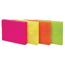 FAVORIT VALIGETTA NEON PORTADOCUMENTI 52*37 CF.4 COLORI ASSORTITI