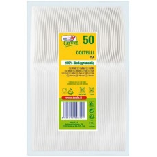 COLTELLI GREEN COMPOSTABILE BIO CF.50