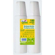 BICCHIERE GREEN PLA-FLEX 200ML CF.2*50 PZ. COMPOSTABILE BIO