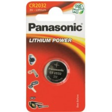 PANASONIC MICROPILA CR2032 BLISTER 1 PILA AL LITIO