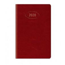 AGENDA 2020 GIORNALIERA 14.5X20.5 S/D SEPARATI MADRID ROSSO