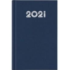 AGENDA 2020 GIORNALIERA 21X29.7 A4 GOMMATO BLU