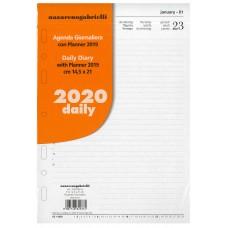 RICAMBIO ORGANIZER GIORNALIERO 2020 GRANDE A5 14.5*21CM