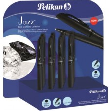PELIKAN DISPLAY PENNA SFERA JAZZ BLACK DIAMOND 12 PENNE