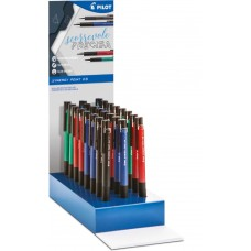 PILOT 2020 ESPOSITORE SYNERGY POINT 0.5 42 PENNE COLORI ASSORTITI