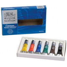 WN COTMAN ACQUARELLO SET 6 TUBETTI 8ML COLORI ASSORTITI