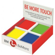 BE MORE TOUCH FLUO DISPLAY 36 SPIRALATI F.TO 10*15 5MM