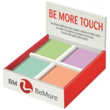 BE MORE TOUCH PASTELLO DISPLAY 36 SPIRALATI F.TO 10*15 5MM