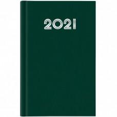 AGENDA 2021 GIORNALIERA 14.5X20.5 S/D ABBINATI GOMMATO VERDE