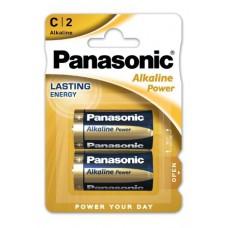 PANASONIC MEZZATORCIA ALKALINE POWER - BLISTER 2 PILE